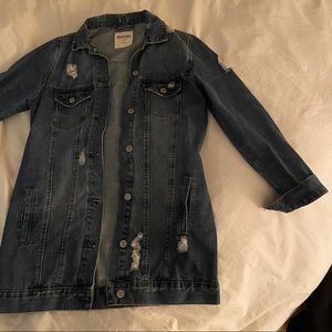 Long Bluenotes Jean Jacket